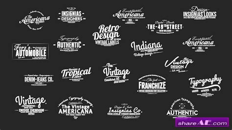 how to get free videohive templates vintage slideshow titles pack after effects project