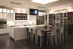 Kitchen Cabinets High End High End White Stainless Steel Kitchen Cabinet And Floating Shelf Also Large Island With