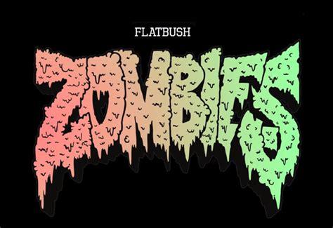 Zombies Flatbush Logo T Shirt flatbush zombies laker paper lyrics genius lyrics