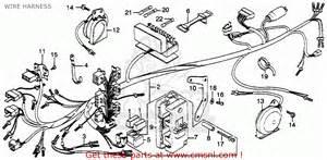 honda gl1000 gold wing 1978 usa wire harness schematic partsfiche