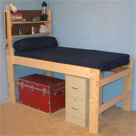 college dorm bed frame platform beds solid wood all sizes high riser bed 1000