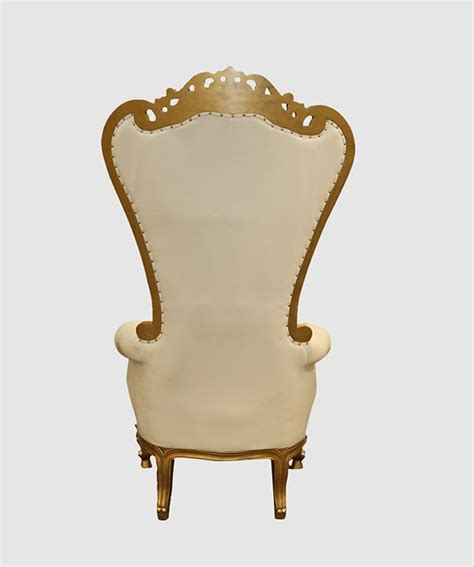 High Backed Throne Chair by Of Hearts And Gold High Backed Throne Chair