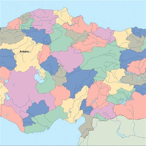 turkey map vector turkey vector map illustrator vector eps maps