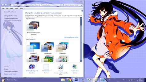 download theme windows 7 log horizon anime skin theme win 7 akatsuki log horizon by bashkara
