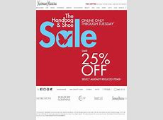 Neiman Marcus: Handbag & Shoe Sale! Extra 25% OFF | Milled Neiman Marcus Sale