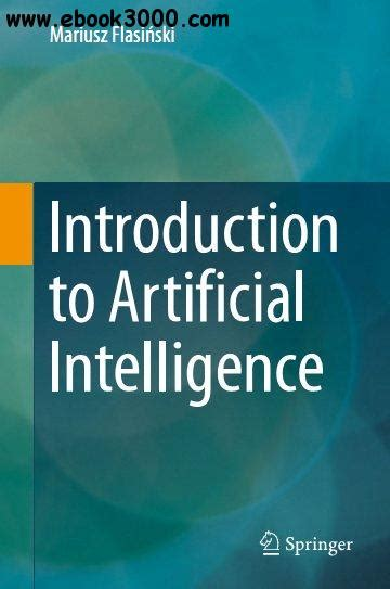 pattern recognition in artificial intelligence pdf introduction to artificial intelligence free ebooks download