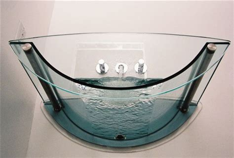 bathtub with glass prizmastudio prizma presents a complete glass bathroom