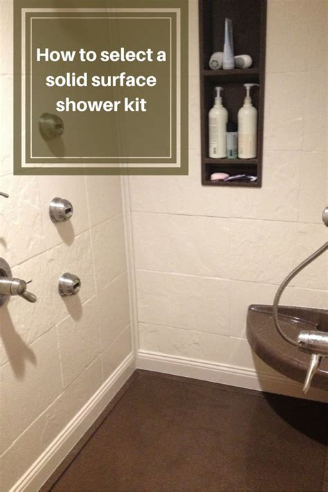 how to select a bathtub how to select a stone solid surface shower kit shower