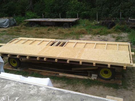bauwagen fahrgestell bauwagen ausbauen mit der bauwagen wohnwagen manufaktur