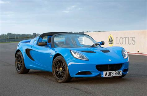 lotus elise 20th anniversary special edition autofluence