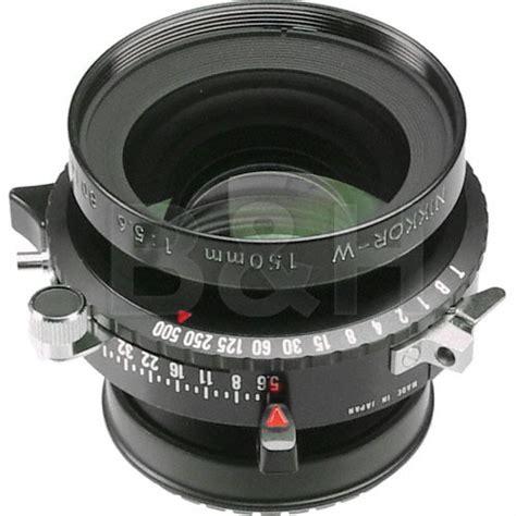 nikon 150mm f 5 6 nikkor w lens with copal 0 shutter 1314 b h