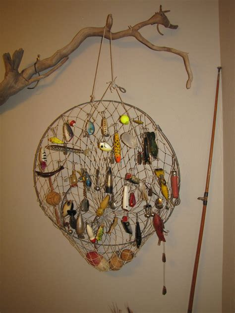 a great way to display those fishing lures diy projects fishing lures