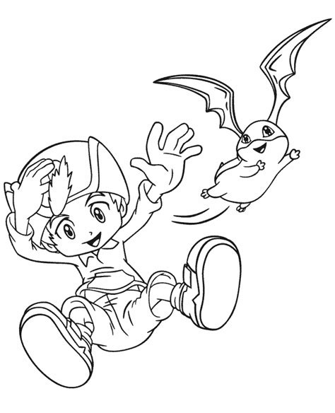 Coloring Page 24 by Digimon 24 Coloring Pages Coloring Page Book