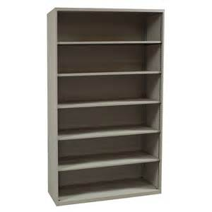 6 Shelf Bookcase Teknion Used 6 Shelf 75 Inch Bookcase Putty National