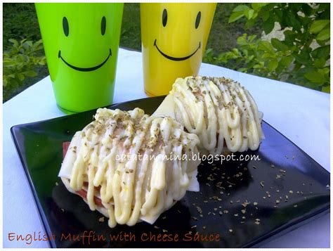 membuat english muffin english muffins with cheese sauce lbt 13 catatan nina
