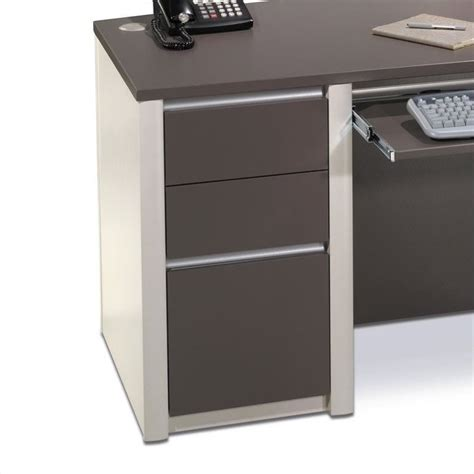 Connexion Office by Bestar Connexion Office 1 Drawer Filing Cabinet In Slate