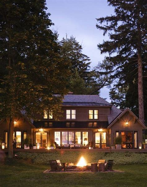 houses in the woods nice house in the woods inspired dream home pinterest