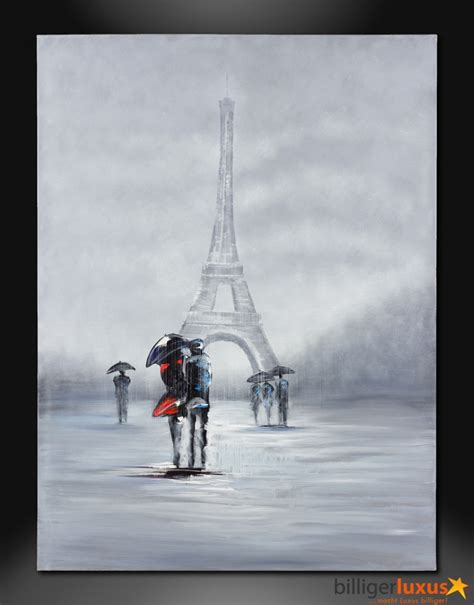 Eiffel Tower Wall Murals original oil painting canvas eiffel tower picture 122x91