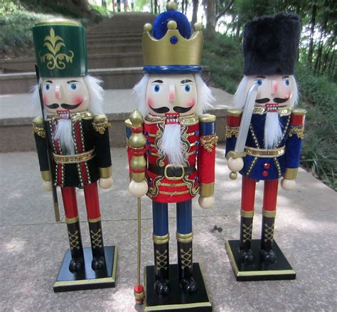 zakka nutcracker puppet soldiers vintage home decor