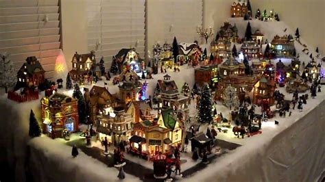 chris gabby s lemax christmas village 2011 youtube