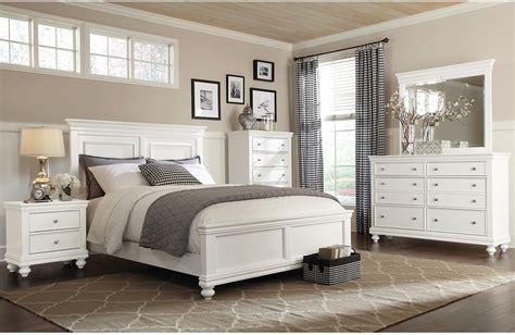 bridgeport  piece queen bedroom set white  brick