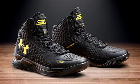 curry one new year release date where to cop the armour curry one black and gold