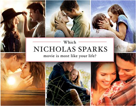 film terbaik nicholas sparks which nicholas sparks movie are you quiz zimbio