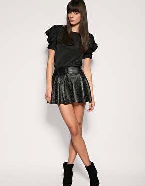 leather mini skirt fashion and gossip
