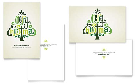 greeting card layout templates contemporary christian greeting card template word
