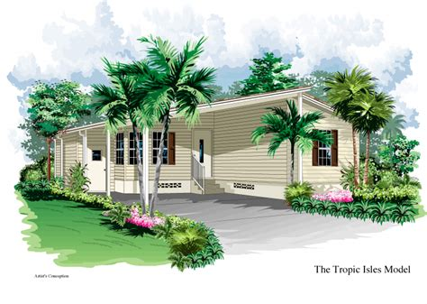 tropic isle floor plans nobility homes florida