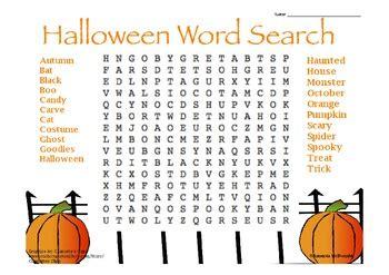 halloween themed words halloween word search freebie by amanda mcdonald tpt
