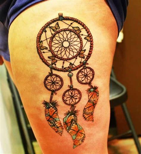 tattoo dreamcatcher butterfly 72 mysterious dream catcher tattoos design mens craze
