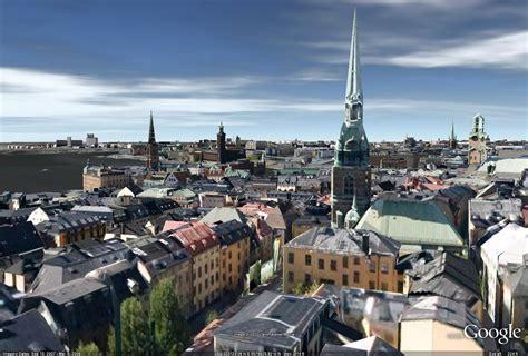 google stockholm retired sketchup blog stockholm is on the 3d map