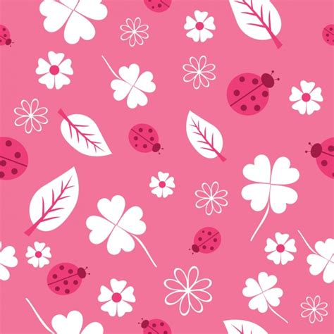 pink pattern free vector pink nature pattern design vector free download