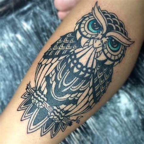 cool owl tattoos 95 best photos of owl tattoos signs of wisdom 2018