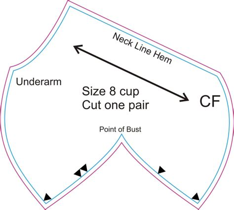 pattern drafting large bust how to make a bra 2 foundations revealed