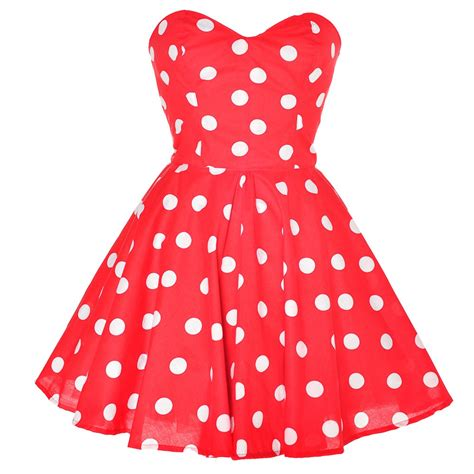 Red Polka Dot Dress from Styleiconscloset on Storenvy