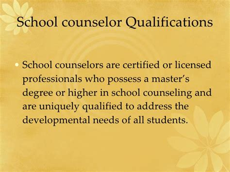 certified college advisor school counselors and teachers