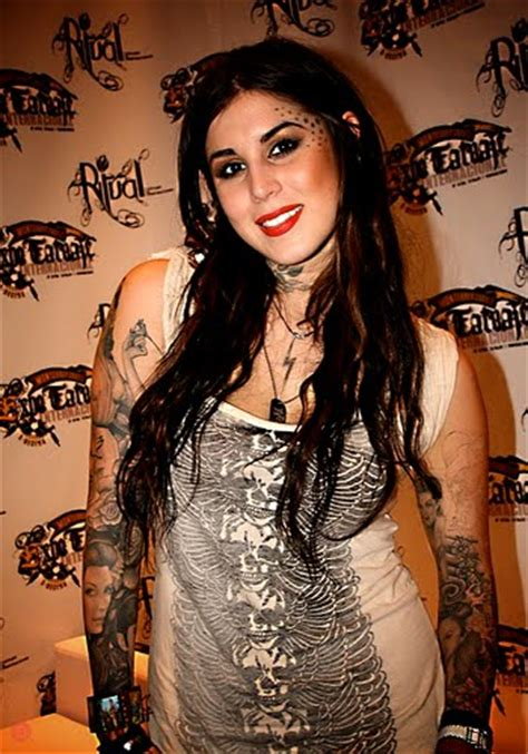 kat von d without tattoos how does the media make you feel