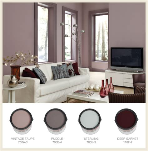 colorfully behr mauve lous