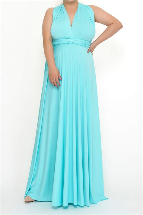 infinity size aqua blue maxi convertible infinity dresses from to