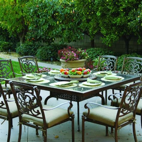 patio table with lazy susan dining table patio dining table with lazy susan