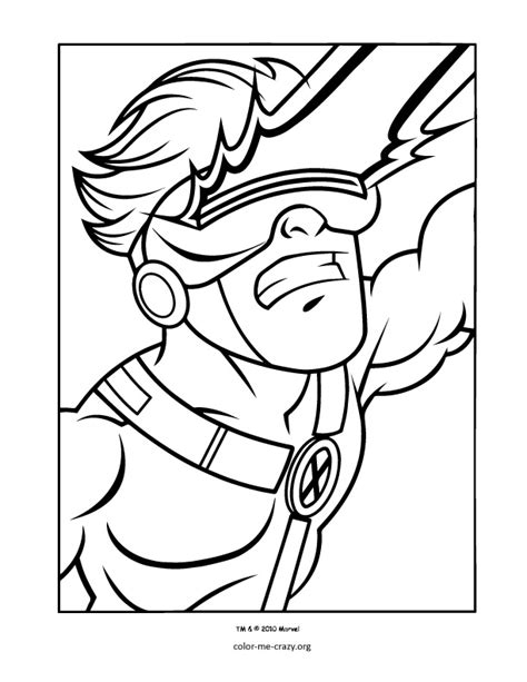 Colormecrazy Org Super Hero Squad Coloring Pages Squad Coloring Page
