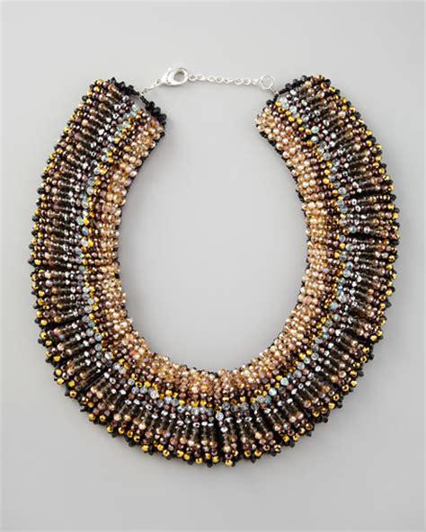 nakamol beaded choker necklace
