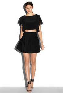 milly pleated skirt in black lyst