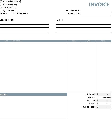 download pattern excel printable invoice template word tomahawk talk invoice