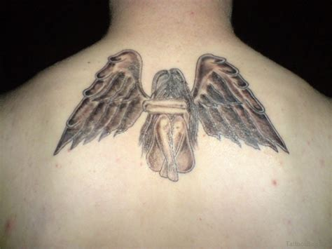 angel tattoo ideas 51 prettiest memorial tattoos on back