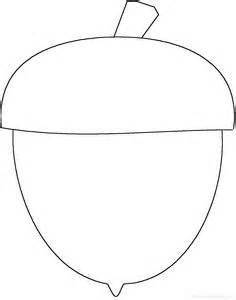 large acorn coloring coloring pages