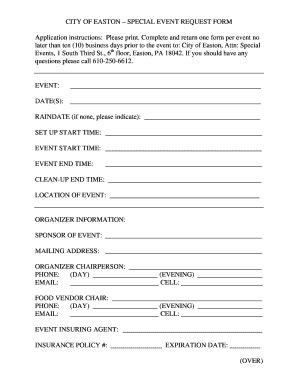 event application form template event registration form template word fillable