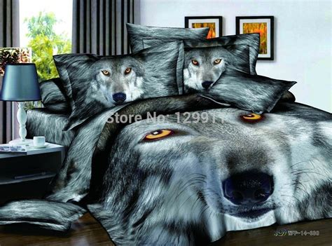 bed bath and beyond norman ok wolf bedding sets compare prices on wolf sheet set online